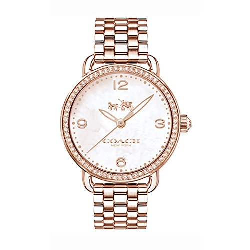 COACH Women's Delancey 36mm Bracelet Rose Gold One Size
