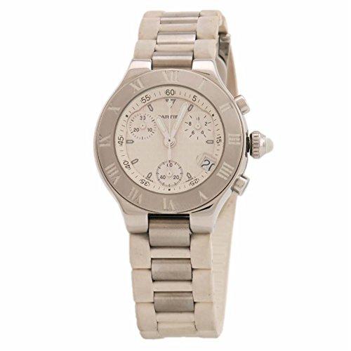 Cartier Must 21 swiss-quartz womens Watch (Certified Pre-owned)
