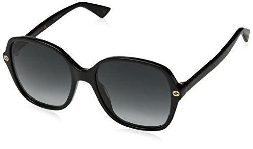 Gucci Black Square Sunglasses Lens Category 3 Size 55mm