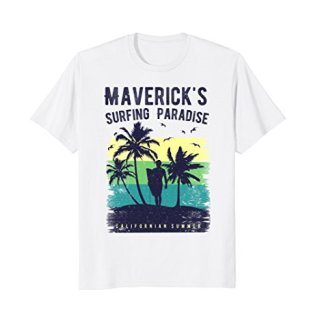 Maverick's California Surfing Paradise T-Shirt