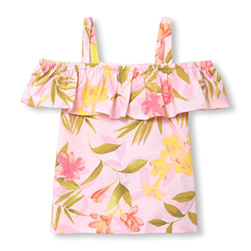 The Children's Place Baby Girls Short Sleeve Top, Pink Admirer, 18-24MONTH