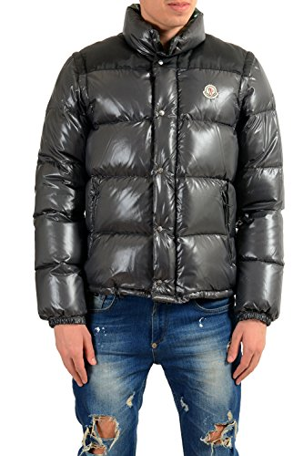 6a91a5eb1139 Moncler Men s Andersen Down Parka with Detachable Sleeves Sz 3 US M ...