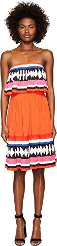 Kate Spade New York Women's Geo Border Pleated Dress Multi 2