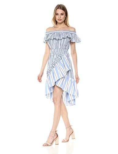 Misa Women's Marin Dress, Blue Fe, Extra Small