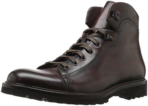 Magnanni Men's Val Engineer Boot, Brown, 8 M US
