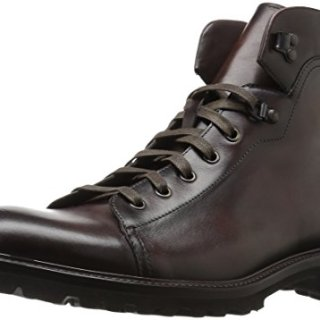 Magnanni Men's Val Engineer Boot, Brown, 8 M US