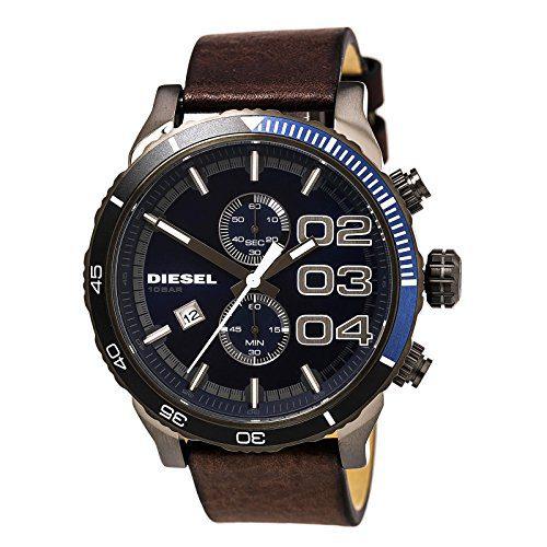 Diesel Watches Franchise 2.0 Mens Watch (Dark Brown/Gunmetal)