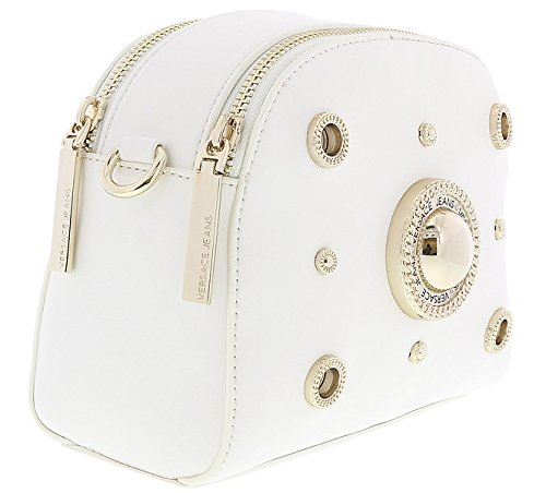 196c3a322880 Home   Shop   Women   Accessories   Handbags   Wallets   Versace White  Crossbody Bag with adjustable and detachable strap for Womens