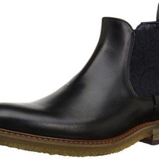 Ted Baker Men's Bronzo Lthr AM Chukka Boot, Black, 13 M US