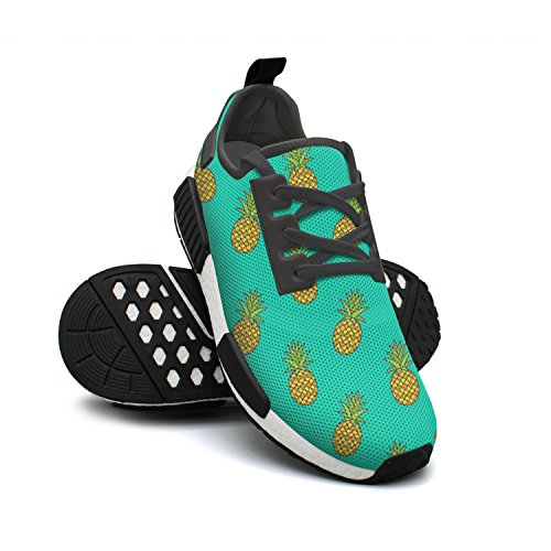 lsawdas Pineapple Graphic Printed Men Running Sneakers Shoes