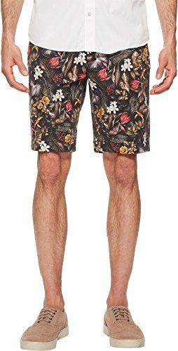 Robert Graham Men's Maracas Woven Short, Multi, 34