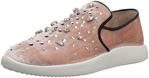 Giuseppe Zanotti Women's Fashion Sneaker, Blush, 8 M US