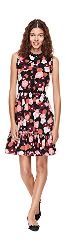 Kate Spade Blooming Mini Dress Black (6)