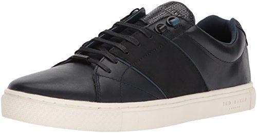 Ted Baker Men's Quana Sneaker, Dark Blue, 8 D(M) US