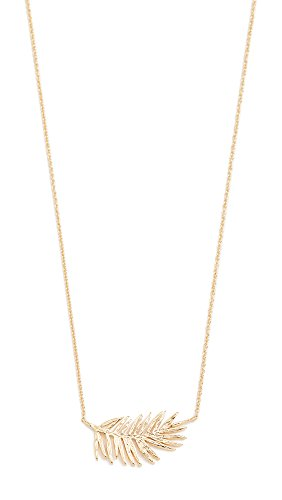 Gorjana Women's Palm Adjustable Necklace, Yellow Gold, One Size