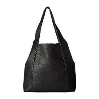 French Connection Women's Del Tote Black Handbag