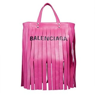 Balenciaga Women's Pink Leather Handbag