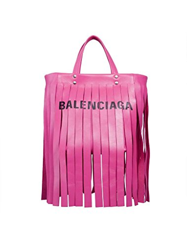 Balenciaga Women's Pink Leather Handbag