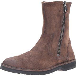 John Varvatos Men's Hipster Zip Winter Boot, Antique, 9 M US