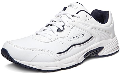 Tesla TF-L610-WNY_Men 9 D(M) Men's Active Sports Running Trail sneaker Lace-up shoes L610