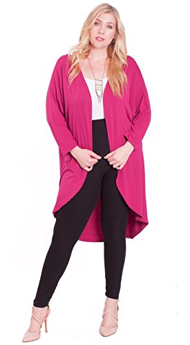 e27546cb7 Calvin Klein Plus Size Open Front Cardigan Sweaters Sizes. Xehar Women S Plus  Size Casual ...