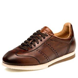 Magnanni Men's ISCO Fashion Sneaker, Mid-Brown, 10.5 M US