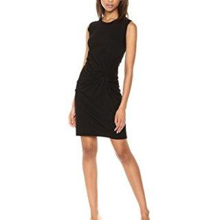 Stateside Women's Twisty Tank Dress, Black, Medium