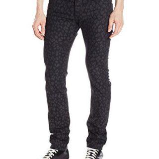 Just Cavalli Men's Super Slim Fit Jean, Black, 40