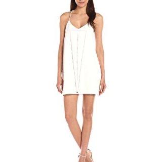 Dolce Vita Women's Bella Slip Dress, White, L