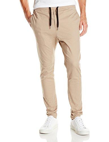 Zanerobe Men's Salerno Chino Tapered Cuff Pants, Tan, 32