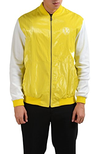 Versace Jeans Multi-Color Men's Full Zip Windbreaker Jacket US L IT 52