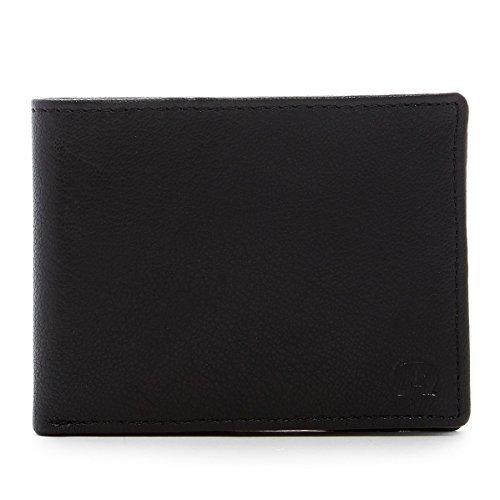 Robert Graham Men's Balanga Leather Slimfold Wallet (Black)