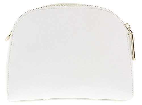 43865d1af7ab Versace White Crossbody Bag with adjustable and detachable strap for Womens