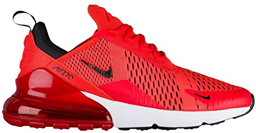 NIKE Air Max 270 Men's Shoes Habanero Red/Black/White (10.5 D(M) US)