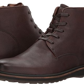 John Varvatos Men's Brooklyn Lug Boot Nutmeg 7 D US