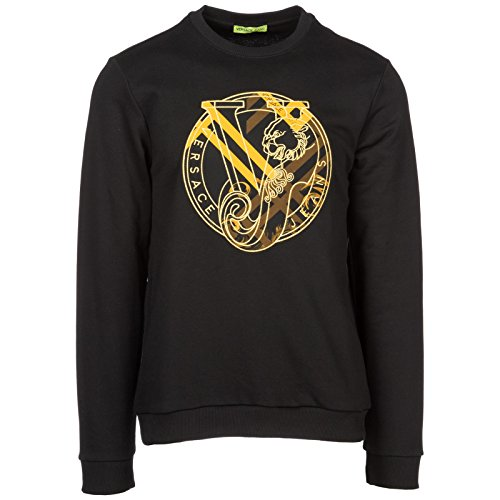 Versace Jeans Men's Sweatshirt Sweat Black US Size M (US M)