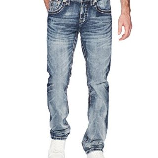 Rock Revival Men's Tynder, Medium Blue, 36