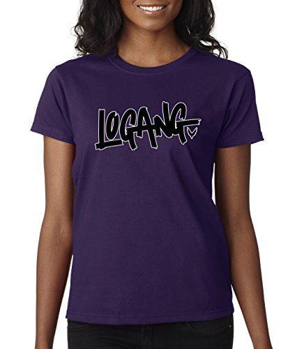 New Way 826 - Women's T-Shirt Logang Logan Paul Maverick Savage Small Purple