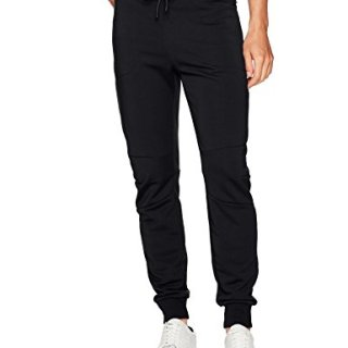 J.Lindeberg Men's Athletic Sweatpants, Black, Large