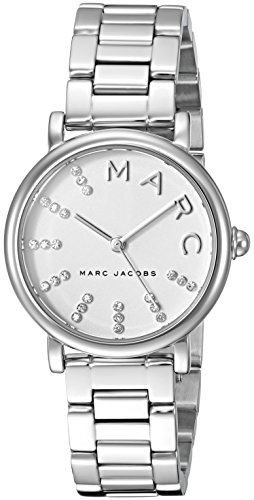 Marc Jacobs Women's 'Roxy' Quartz Stainless Steel Casual Watch, Color Silver-Toned