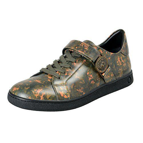 Versace Versus Men's Multi-Color Leather Fashion Sneakers Shoes Sz US 10 IT 43