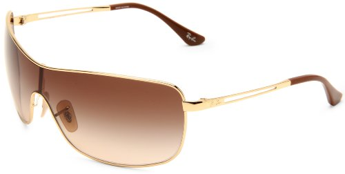 Ray-Ban ARISTA Frame BROWN GRADIENT Lenses 35mm Non-Polarized