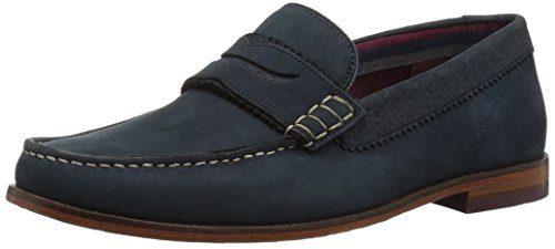 Ted Baker Men's Miicke 5 Loafer, Dark Blue, 8 D(M) US