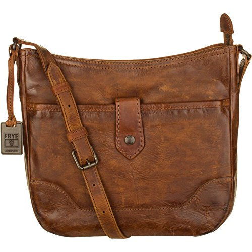 Frye Melissa Button Crossbody Bag, Cognac, One Size