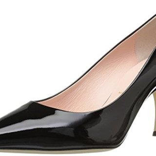 Kate Spade New York Women's Sonia Pump, Black Patent, 7.5 M US