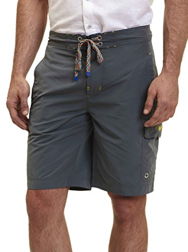 Robert Graham Alvarado St Knit Short Graphite Mdgrey Large