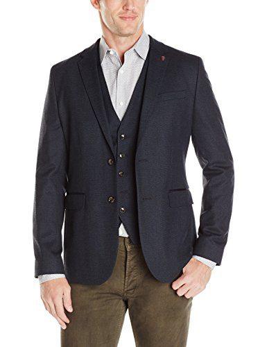 Ted Baker Men's Cabrini Sportcoat, Navy, 2/Small