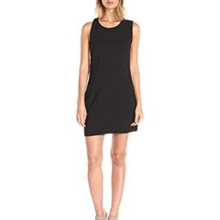 Dolce Vita Women's Sleeveless Split Back Amy Dress, Black, Small