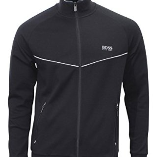 Hugo Boss Tracksuit Jacket Jacket Jackets M Black Men