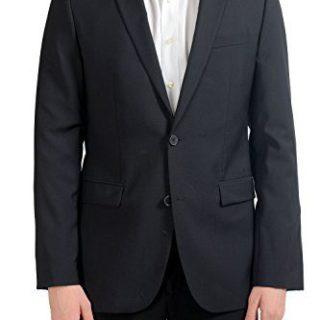 Hugo Boss AerinS Men's 100% Wool Two Button Blazer Sport Coat US 40L IT 50L